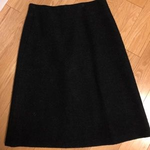 Late Spade Boucle Skirt Black Size 10